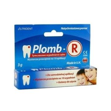Plomb-r tymczasowe wypełnienie zęba WYSYŁKA gratis