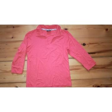 Pomarańczowa damska koszulka polo BIG STAR XL