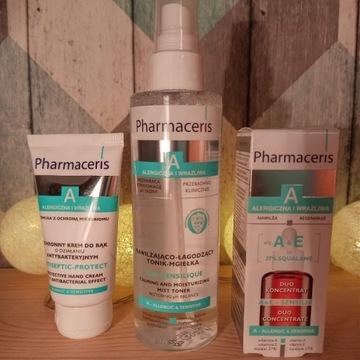 PHARMACERIS - zestaw skóra alergiczna i wrażliwa