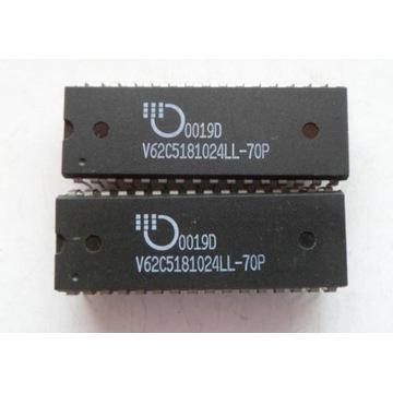 V62C5181024 1Mbit 70ns CMOS SRAM  Mosel Vitelic