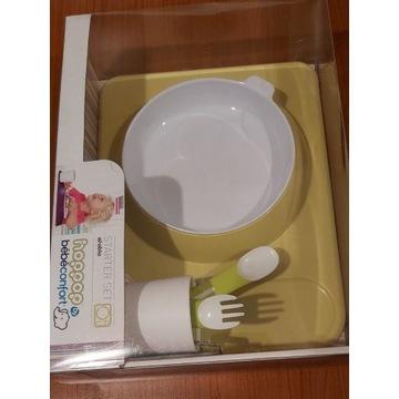 Zestaw stołowy dla Dziecka,tacka,kubek,miseczka it