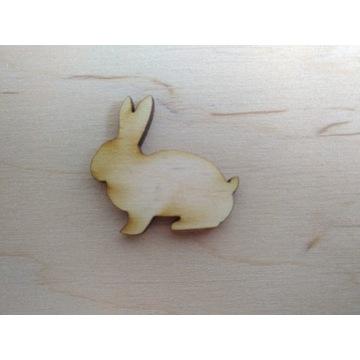 Zajączki zając królik decoupage EKO 20 szt