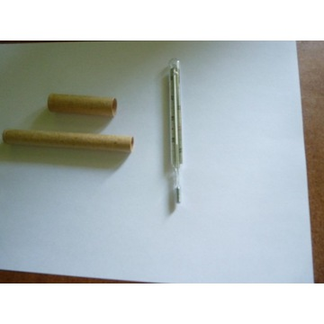 termometr lekarski szklany