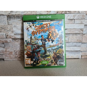 SUNSET OVERDRIVE XBOX ONE WERSJA PUD. STAN BDB.