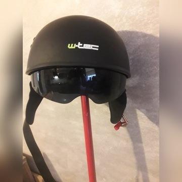 Kask motocyklowy orzeszek hełm