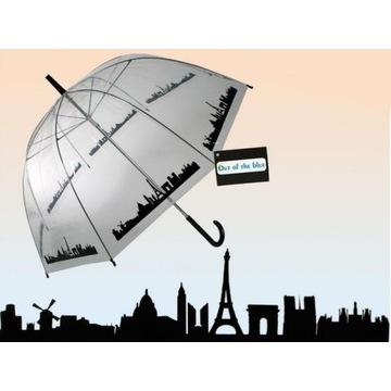 Parasol Przezroczysty Miasto - Duża parasolka