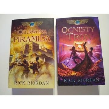 Kroniki Rodu Kane tom 1 i 2 -  Rick Riordan