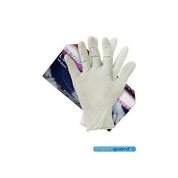 Rękawiczki rękawice jednorazowe mocne 100szt  L
