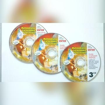 NOWA encyklopedia powszechna leksykon 3 CD UNIKAT