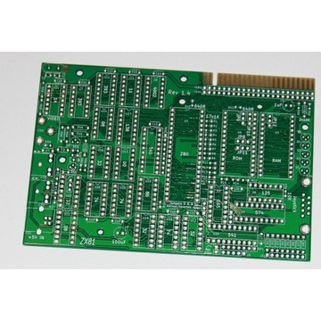 PCB klon ZX81 (ULA na TTL-kach)