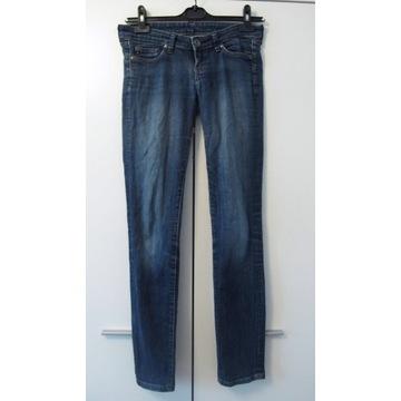 Spodnie damskie jeansy granatowe BIG STAR r. W 26