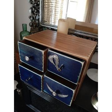 Komódka komoda drewniana szufladki skrzynka szafka