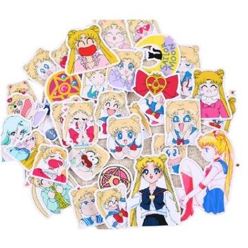Naklejki anime manga Sailor Moon Usagi Tsukino
