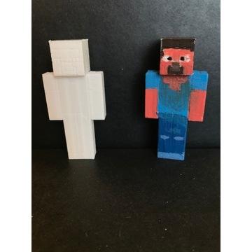 Pakiet figurek z minecraft - wydruk 3D