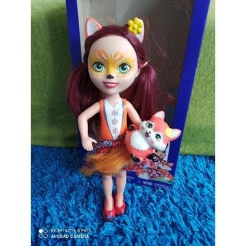 Enchantimals Felicity Fox & Flick - duża lalka