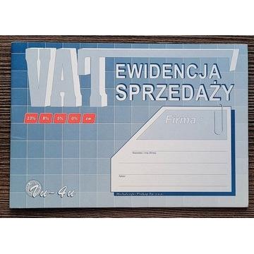 Druki Ewidencja Sprzedaży VAT