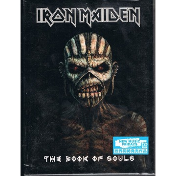 Iron Maiden Book of Souls Japan 2CD Limited OBI