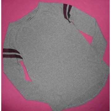 Reserved gładka szara bluzka rozmiar 152 jak nowa