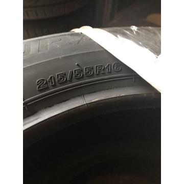 Sprzedam opony letnie Bridgestone 215/55/16