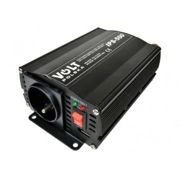 Przetwornica napięcia  12V 500w IPS 350/500 1xUSB