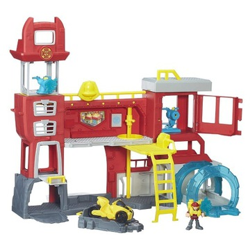 Transformers Rescue Bot Straż Pożarna