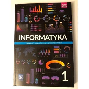 Podręcznik Informatyka 1. Zak. podstawowy.