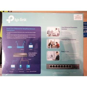 TL-SF1008P - Switch PoE 8-portowy - TP-LINK
