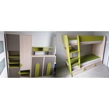 Meble dla dzieci BRW łóżko piętrowe
