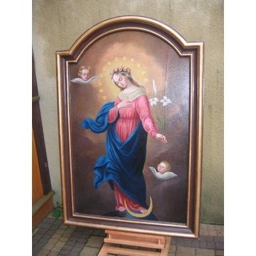 Duża ,18 wieczna Madonna Immaculata