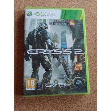 CRYSIS 2, wersja pudełkowa, XBOX360