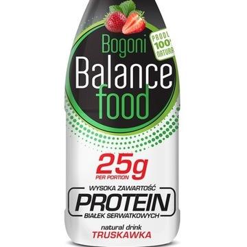 Prozdrowotny napój białkowy BBF PROTEIN truskawka