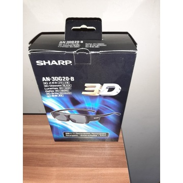 Okulary 3D Sharp AN-3DG20-B