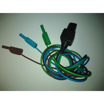 Metrel przewód pomiarowy do mierników instalacji