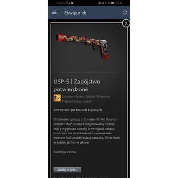 USP Kill Confirmed | Zabójstwo Potwierdzone