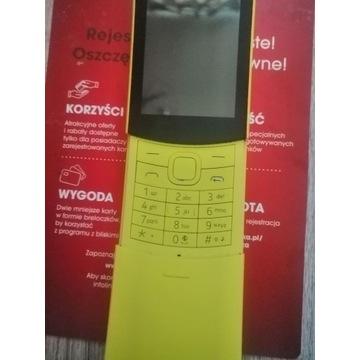 Telefon komórkowy Nokia 8110 4G dual sim 4GB KaiOS
