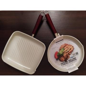2x Patelnia Ceramiczna Grillowa|Licytacja|BCM