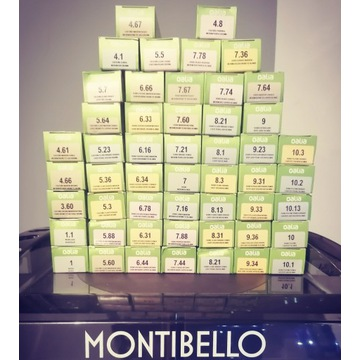 Oalia Montibello farba oxy wyprzedaż GRATIS !!!