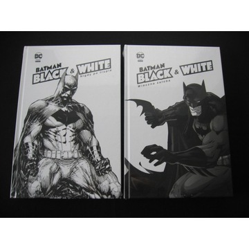 BATMAN NOIR Black & White komplet 2 - nowe w folii