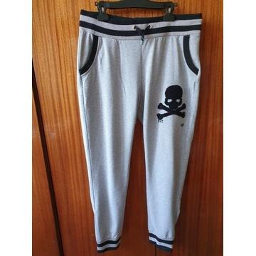 Męskie spodnie dresowe Philipp Plein - stan dobry