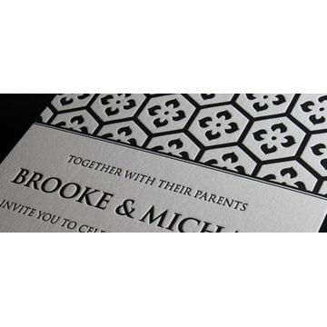 Papier bawełniany Lettra Crane letterpress 595g/m