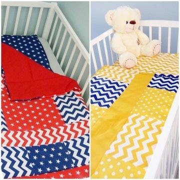 Pościel do łóżeczka z wypełnieniem  - kolory