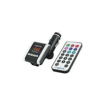 Transmiter FM LogiLink FM0001A z odtwarzaczem MP3