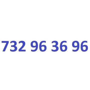 732 96 36 96 starter play ładny złoty numer