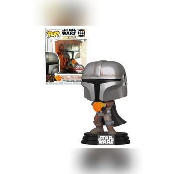 Funko Pop Mandalorian 355 Flame Throwing