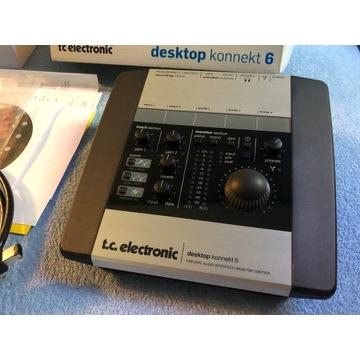 Interfejs audio Tc Konnekt 6 OKAZJA nie scarlett