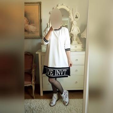 Megi dresowa sukienka tunika L/XL