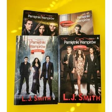 Pamiętniki Wampirów zestaw Tom 1, 2, 3 i 4 Smith