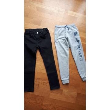 Spodnie rozm 146 H&M,Pepco