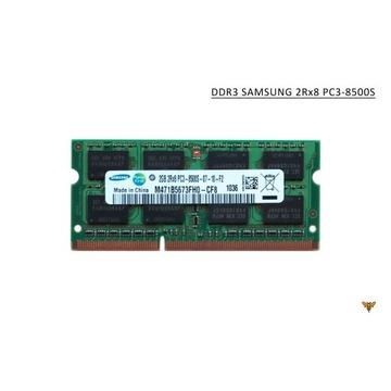 pamięć DDR3 SAMSUNG 2GB  PC3 - 8500S