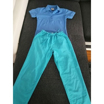 Spodnie medyczne mundurek bluza nowa XS komplet